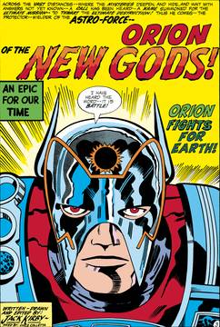 NEW GODS BY JACK KIRBY TP 8/29/2018