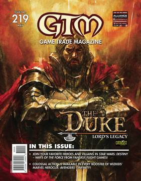 GAME TRADE MAGAZINE EXTRAS #221 (Net) 6/27/2018