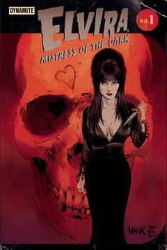 ELVIRA MISTRESS OF DARK #1 CVR E HACK & FRANCAVILLA 7/11/2018