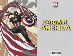 CAPTAIN AMERICA #1 HUGHES VIRGIN VAR 1:500 7/4/2018