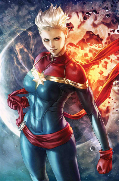 LIFE OF CAPTAIN MARVEL #1 (OF 5) ARTGERM VIRGIN VAR 1:200 7/18/2018