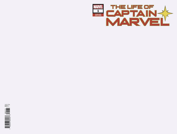 LIFE OF CAPTAIN MARVEL #1 (OF 5) BLANK VAR 7/18/2018