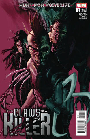HUNT FOR WOLVERINE CLAWS OF KILLER #3 (OF 4) GUICE VAR 7/18/2018