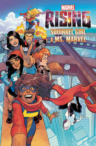 MARVEL RISING SQUIRREL GIRL MS MARVEL #1 ARTIST VAR 7/4/2018