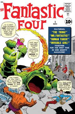 TRUE BELIEVERS FANTASTIC FOUR #1 7/4/2018