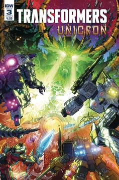 TRANSFORMERS UNICRON #3 (OF 6) CVR A MILNE 8/15/2018