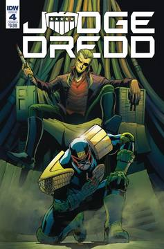 JUDGE DREDD UNDER SIEGE #4 (OF 4) CVR A DUNBAR 8/15/2018
