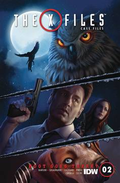 X-FILES CASE FILES HOOT GOES THERE #2 (OF 2) CVR A NODET 8/22/2018