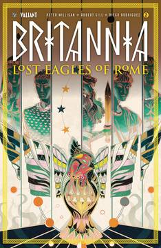 BRITANNIA LOST EAGLES OF ROME #2 (OF 4) CVR B HONG (Net) 8/22/2018