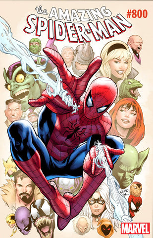 AMAZING SPIDER-MAN #800 LAND VAR LEG 5/30/2018