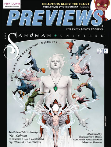 MARVEL PREVIEWS VOL 04 #13 AUGUST 2018 EXTRAS (Net) 8/1/2018