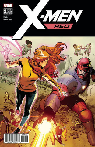X-MEN RED #3 2ND PTG ASRAR VAR LEG 5/23/2018