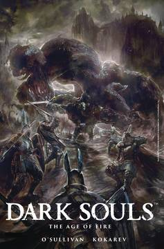 DARK SOULS AGE OF FIRE #4 (OF 4) CVR A ANGULO (MR) 8/15/2018