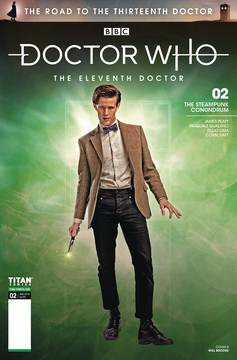 DOCTOR WHO ROAD TO 13TH DR #2 11TH CVR B PHOTO 8/8/2018
