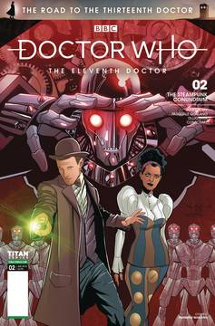 DOCTOR WHO ROAD TO 13TH DR #2 11TH CVR C QAULANO 8/8/2018