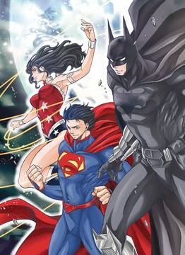BATMAN & THE JUSTICE LEAGUE MANGA TP VOL 01 10/17/2018
