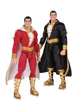 DC ESSENTIALS SHAZAM & BLACK ADAM AF 2 PACK 1/30/2019