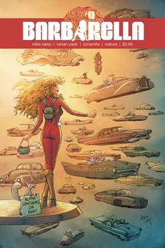 BARBARELLA #9 CVR E YARAR EXC SUBSCRIPTION VAR (MR) 8/22/2018