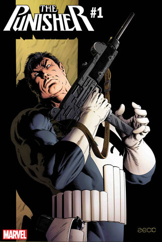 PUNISHER #1 ZECK HIDDEN GEM VAR 1:100 8/22/2018