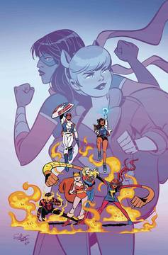 MARVEL RISING MS MARVEL SQUIRREL GIRL #1 CHARRETIER VAR 8/1/2018