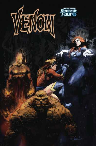 VENOM #5 ZAFFINO RETURN OF FANTASTIC FOUR VAR 8/22/2018