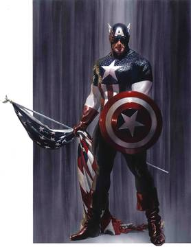 CAPTAIN AMERICA #2 BY ALEX ROSS POSTER 8/8/2018