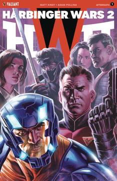 HARBINGER WARS 2 AFTERMATH #1 CVR C 20 COPY INCV ICON MASSAF 9/26/2018
