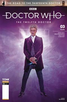 DOCTOR WHO ROAD TO 13TH DR #3 12TH CVR B PHOTO 9/12/2018