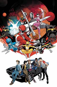 GO GO POWER RANGERS BACK TO SCHOOL #1 MAIN (C: 1-0-0) 9/19/2018