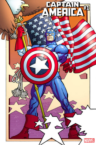 CAPTAIN AMERICA #1 MILLER REMASTERED VAR 7/4/2018