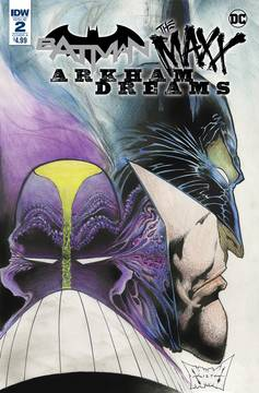 BATMAN THE MAXX ARKHAM DREAMS #2 (OF 5) CVR A KIETH 10/24/2018