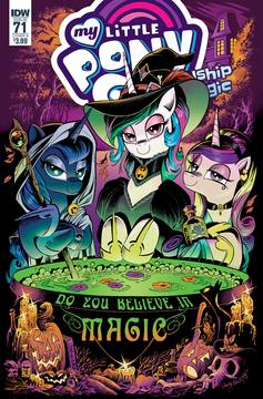 MY LITTLE PONY FRIENDSHIP IS MAGIC #71 CVR A PRICE 10/10/2018