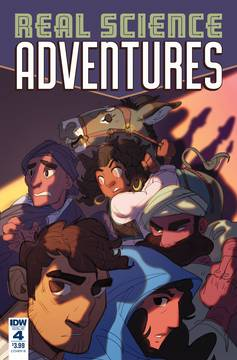 REAL SCIENCE ADVENTURES NICODEMUS JOB #4 CVR B FOLEY 10/10/2018