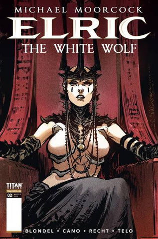ELRIC WHITE WOLF #2 (OF 2) CVR B TELO (MR) 10/3/2018