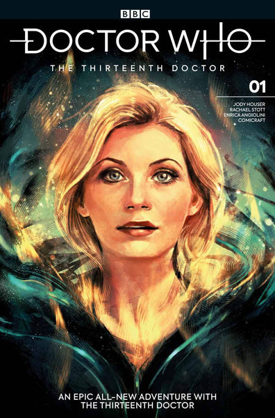 DOCTOR WHO 13TH #1 CVR C ZHANG 10/17/2018