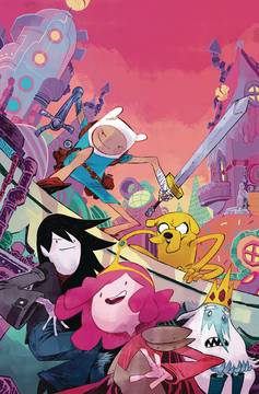ADVENTURE TIME SEASON 11 #1 MAIN (C: 1-0-0) 10/10/2018