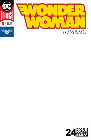 WONDER WOMAN BLANK COMIC #1 10/3/2018