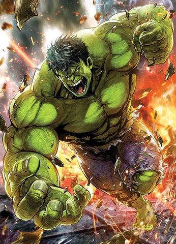 IMMORTAL HULK #7 MAXX LIM MARVEL BATTLE LINES VAR 10/10/2018