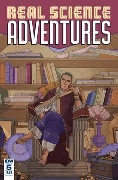 REAL SCIENCE ADVENTURES NICODEMUS JOB #5 CVR B GOUX 11/21/2018