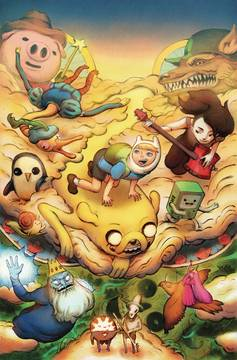 ADVENTURE TIME SEASON 11 #2 PREORDER BENBASSAT (C: 1-0-0) 11/14/2018