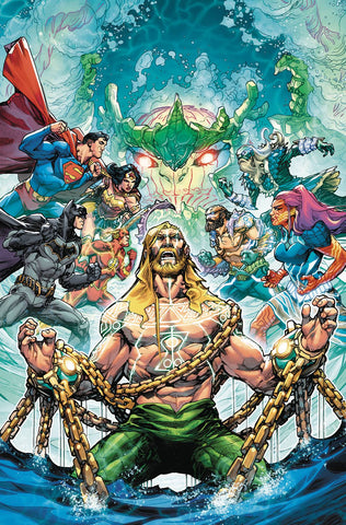 JUSTICE LEAGUE AQUAMAN DROWNED EARTH #1 10/31/2018