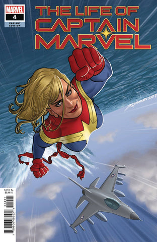 LIFE OF CAPTAIN MARVEL #5 (OF 5) ARTIST GB VAR 12/19/2018