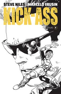 KICK-ASS #9 CVR B FRUSIN (MR) 11/7/2018