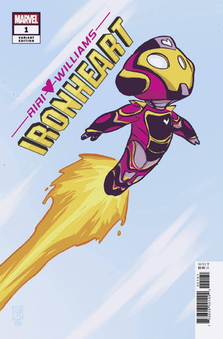 IRONHEART #1 YOUNG VAR 11/28/2018