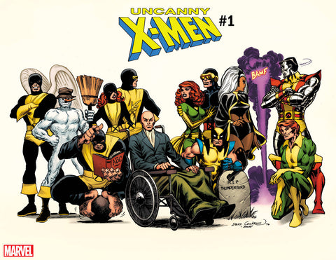 UNCANNY X-MEN #1 COCKRUM HIDDEN GEM VAR 11/14/2018