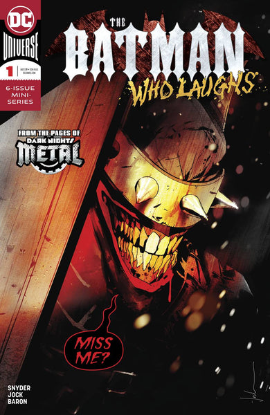 BATMAN WHO LAUGHS #1 (OF 6) 12/12/2018