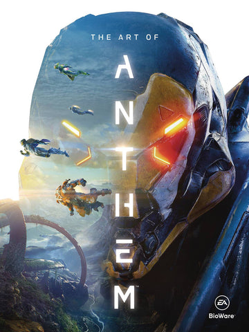 ART OF ANTHEM HC (C: 0-1-2) 2/27/2019
