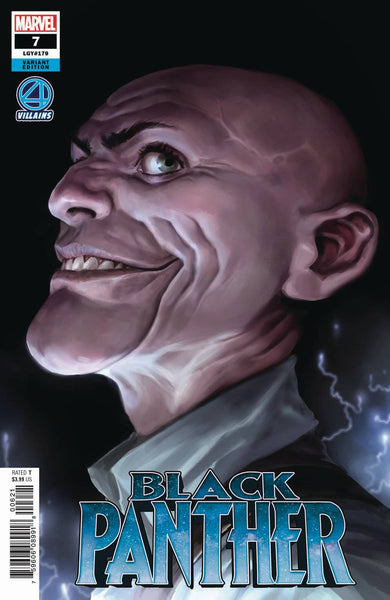 BLACK PANTHER #7 DJURDJEVIC FANTASTIC FOUR VILLAINS VAR 12/12/2018
