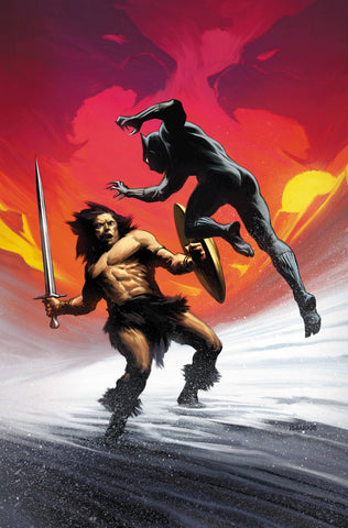 BLACK PANTHER #7 CONAN VS MARVEL VAR 12/12/2018