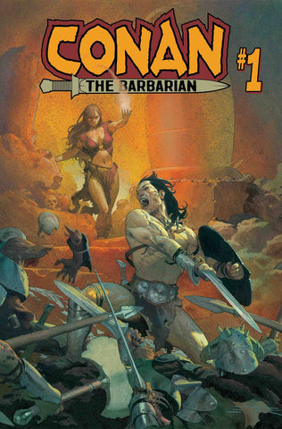 CONAN THE BARBARIAN #1 1/2/2019
